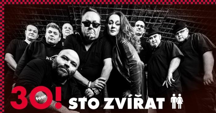 18.01.2020 - Sto zvířat (30!) - Koncert / Teplice