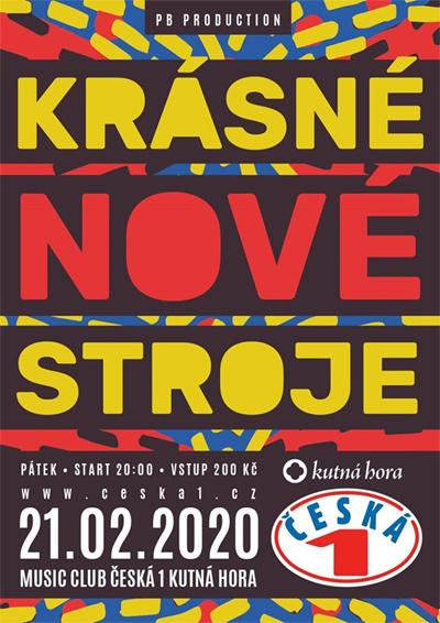 21.02.2020 - Krásné Nové Stroje + Koncert / Kutná Hora