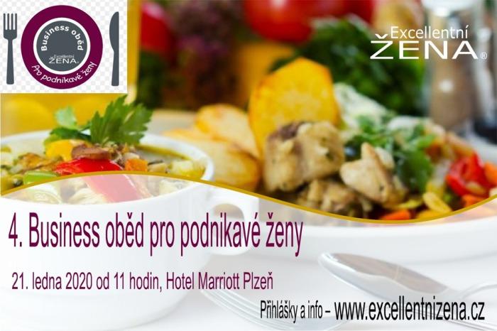 21.01.2020 - 4. Business oběd pro podnikavé ženy - Plzeň