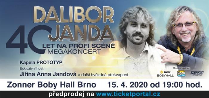 Dalibor Janda - 40 let na profi scéně / Brno