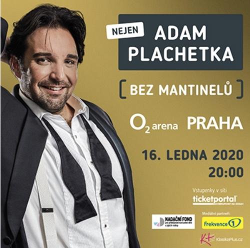 16.01.2020 - Adam Plachetka: Bez mantinelů - Praha