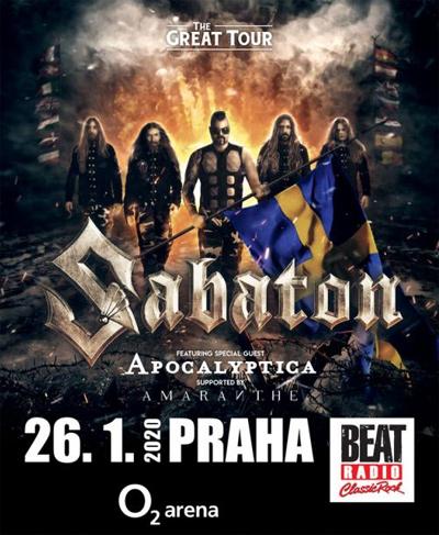 SABATON - Koncert / Praha