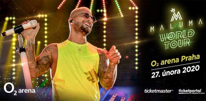Maluma - WORLD TOUR 11:11 / Praha