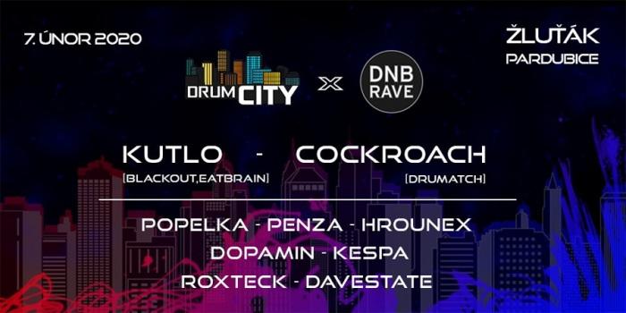 DrumCity & DNB Rave / Pardubice