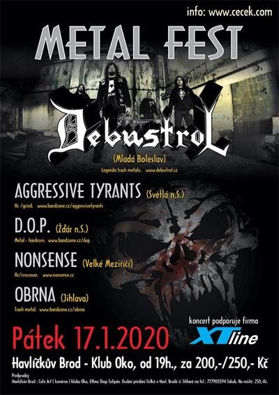 17.01.2020 - Debustrol  - Koncert / Havlíčkův Brod