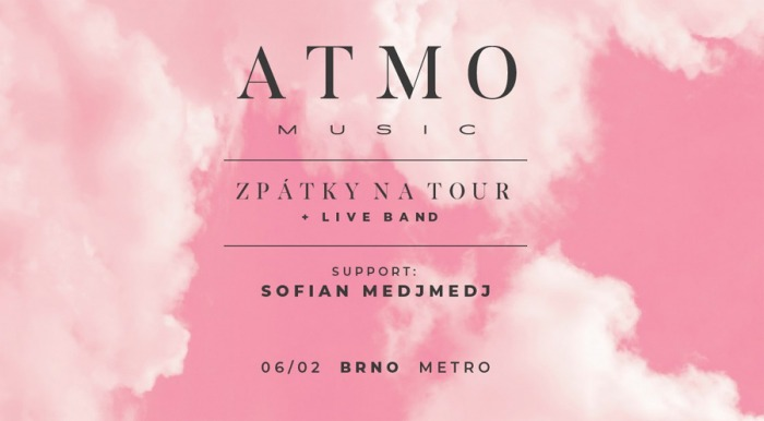 ATMO music - Zpátky na tour / Brno