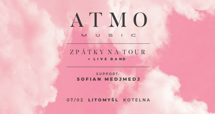 ATMO music - Zpátky na tour / Litomyšl
