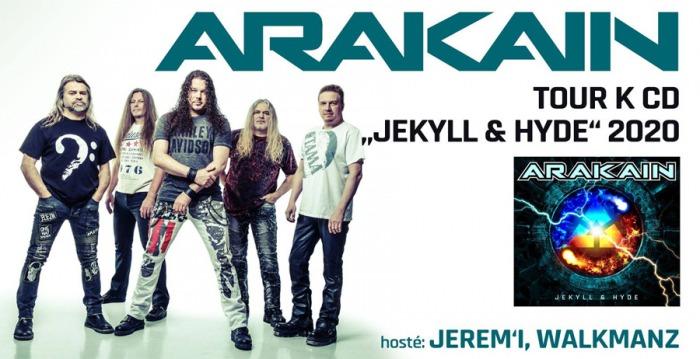03.04.2020 - Arakain: Jekyll & Hyde TOUR 2020 / Teplice