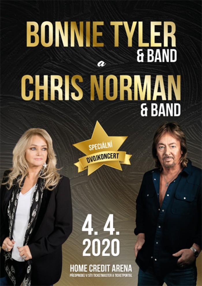 04.04.2020 - Bonnie Tyler & Chris Norman - Koncert / Liberec