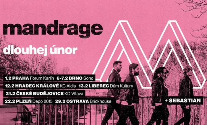12.02.2020 - Mandrage - Dlouhej únor 2020 / Hradec Králové