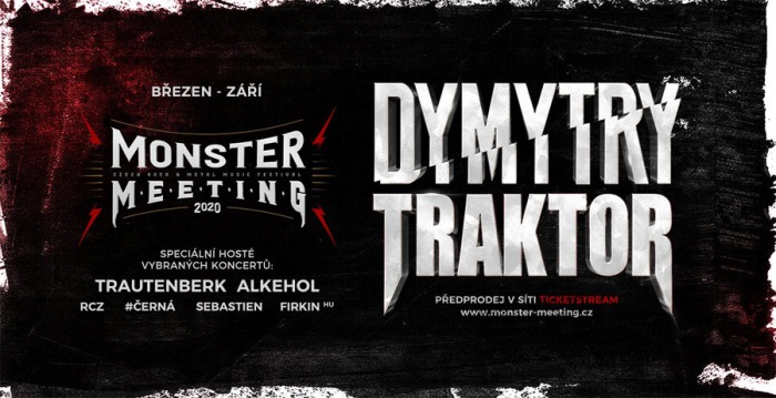 15.08.2020 - Dymytry + Traktor: Monster Meeting 2020 / Loket nad Ohří