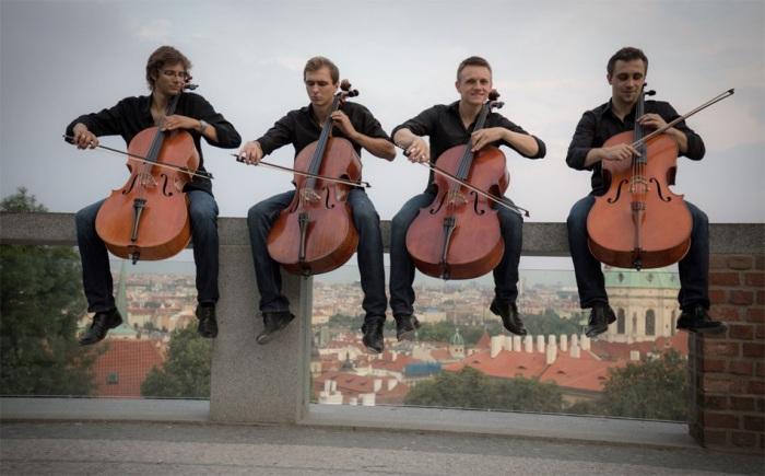 15.02.2020 - Prague Cello Quartet - Broadway Tour 2020 / Litomyšl
