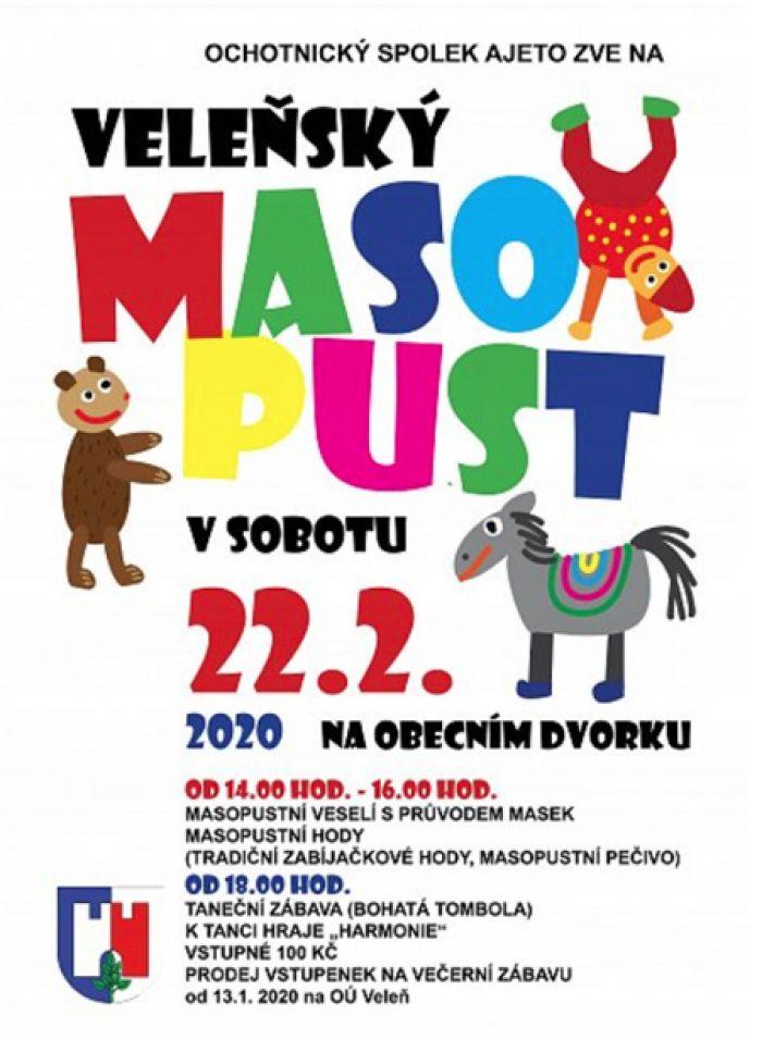 VELEŇSKÝ MASOPUST 2020