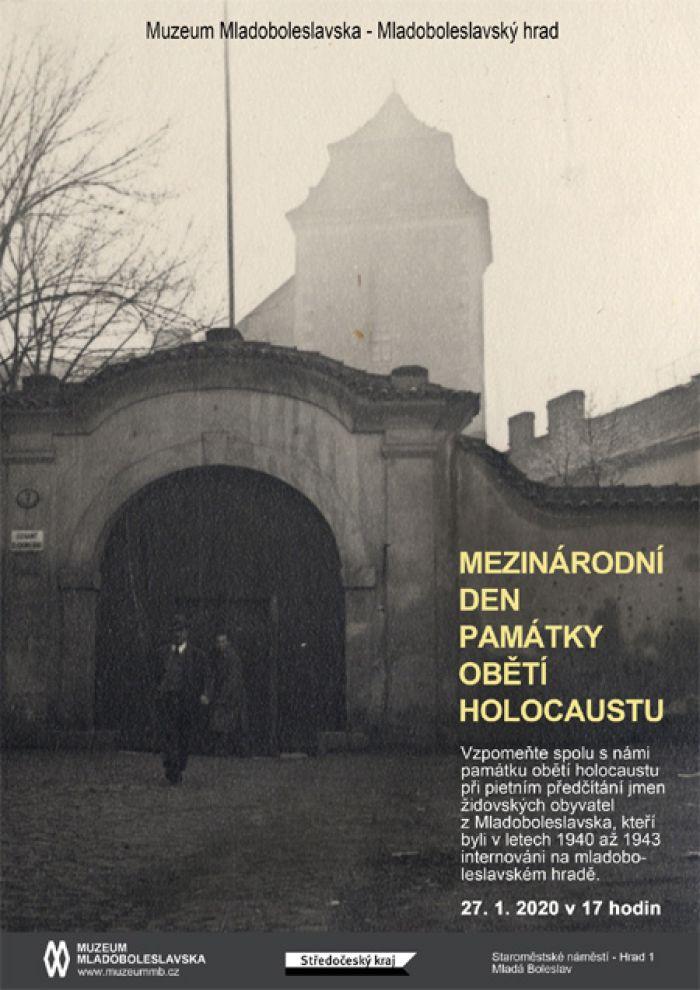 Mezinárodní den památky obětí holocaustu - Mladá Boleslav