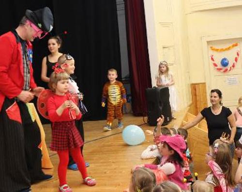 Dětský maškarní karneval - Beroun