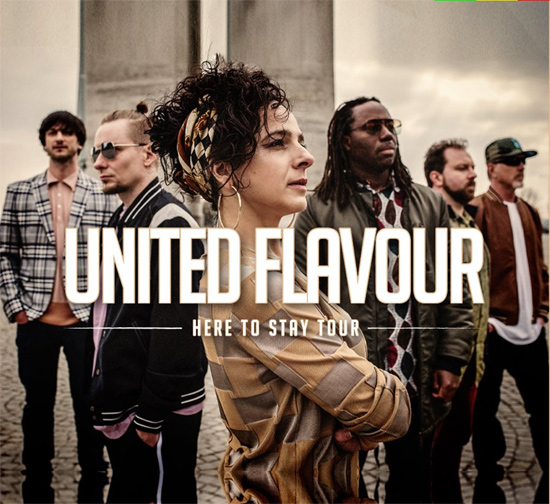 United Flavour Soundsystem - Here To Stay Tour / Beroun