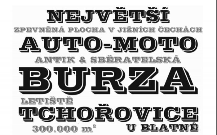 30.05.2020 - AUTO MOTO, ANTIK A SBĚRATELSKÁ BURZA - Tchořovice