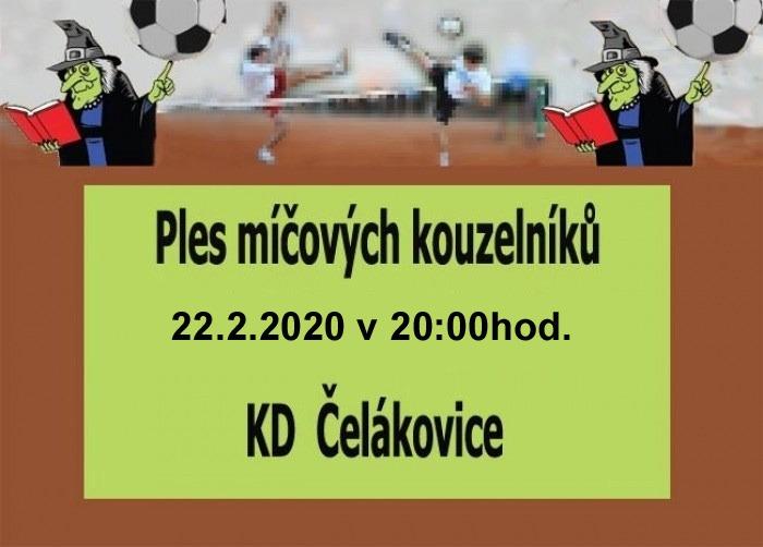 22.02.2020 - Ples míčových kouzelníků - Čelákovice