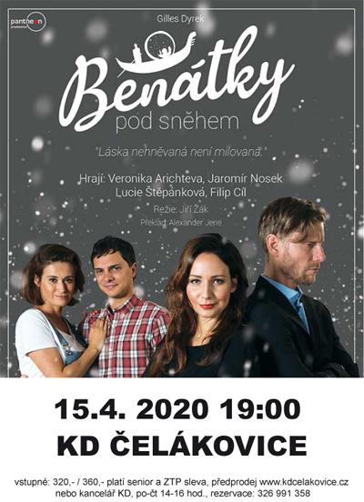 15.04.2020 - BENÁTKY POD SNĚHEM - Divadlo /  Čelákovice