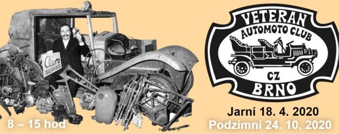 24.10.2020 - MotorTechna Brno - Burza historických vozidel, náhradních dílů a dokumentace