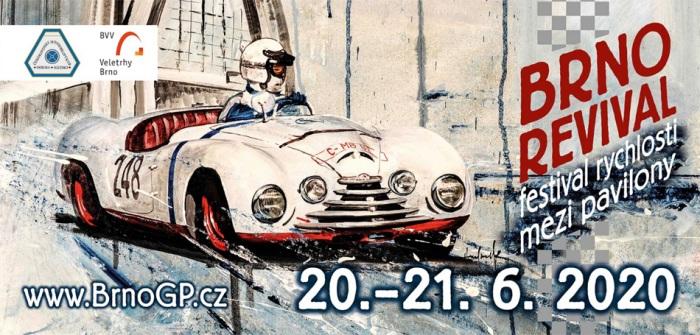 20.06.2020 - Brno Revival - Závody veteránů