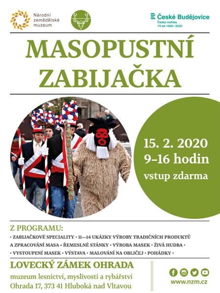 15.02.2020 - Masopustní zabijačka - Hluboká nad Vltavou