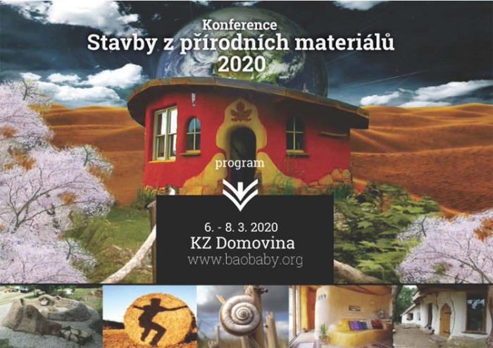 Stavby z přírodních materiálů 2020 - Konference / Praha