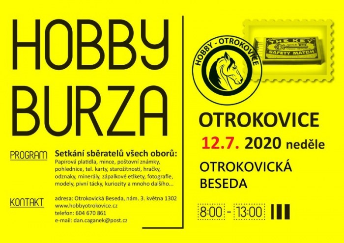 12.07.2020 - HOBBY BURZA 2020 - Otrokovice