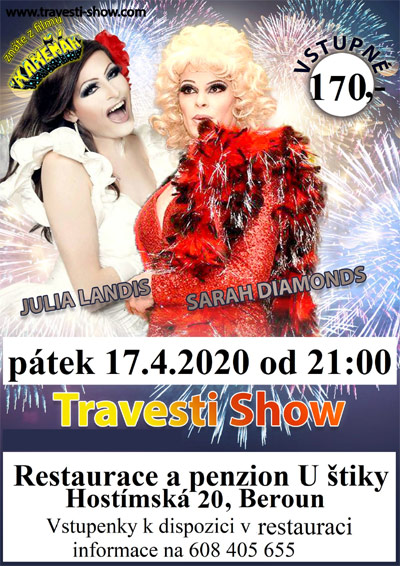 17.04.2020 - TRAVESTI SHOW - Beroun