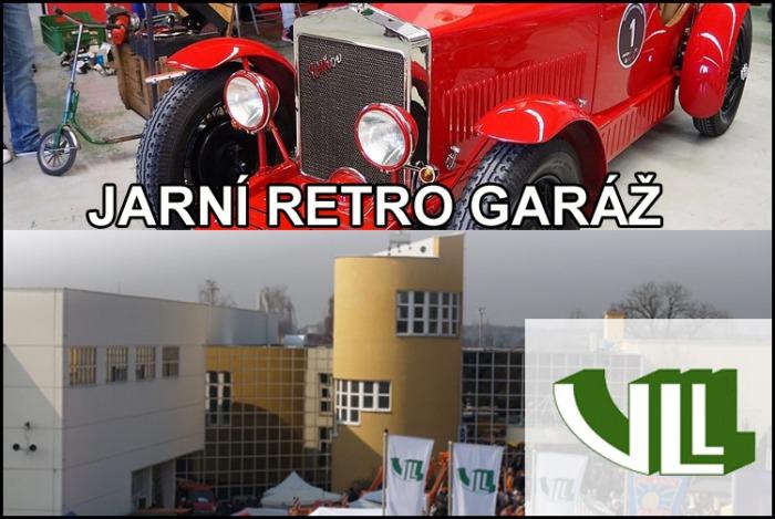 JARNÍ RETRO GARÁŽ - Výstaviště Lysá nad Labem