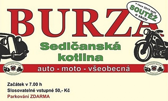 26.07.2020 - Auto - Moto Burza Sedlčany 2020