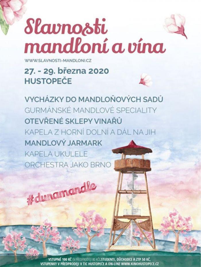 27.03.2020 - Slavnosti mandloní a vína 2020 - Hustopeče