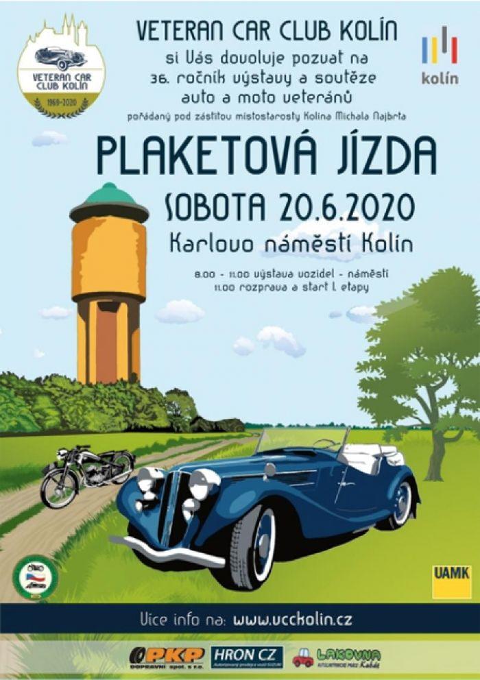 20.06.2020 - Plaketová jízda 2020 - Kolín