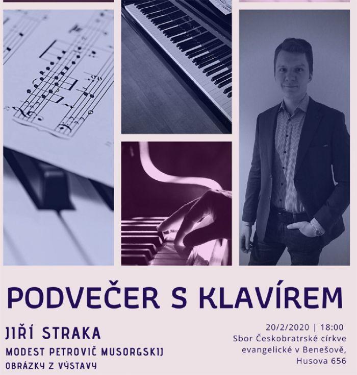 20.02.2020 - Podvečer s klavírem - Benešov