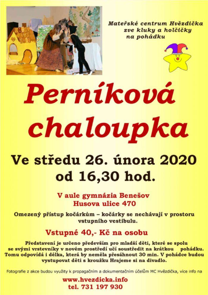 26.02.2020 - Pohádka o Perníkové chaloupce - Pro děti / Benešov
