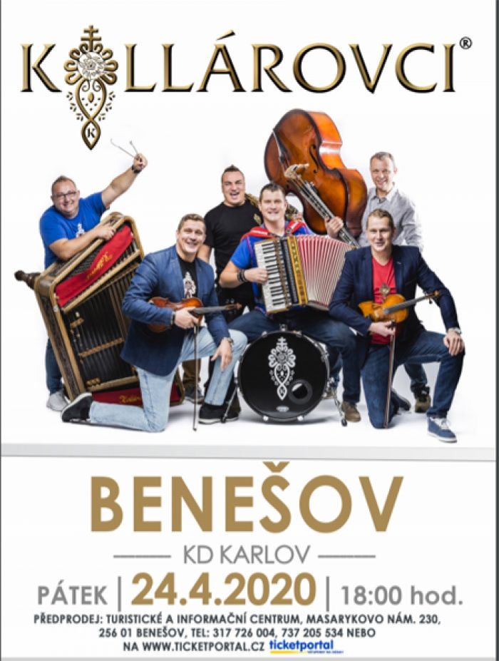 24.04.2020 - Kollárovci - Koncert / Benešov