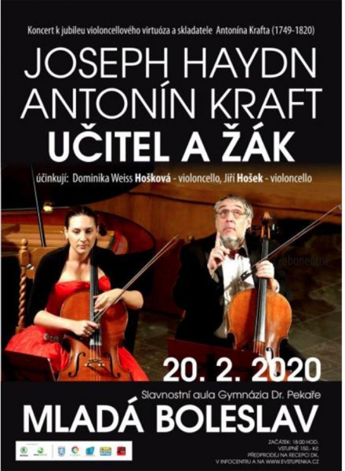 20.02.2020 - Joseph Haydn, Antonín Kraft - Učitel a žák / Mladá Boleslav