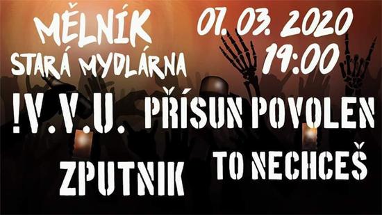 07.03.2020 - Punková Mydlárna - Mělník