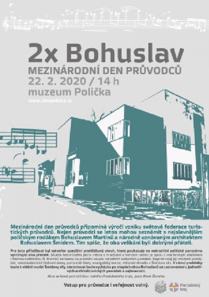 MEZINÁRODNÍ DEN PRŮVODCŮ aneb 2x Bohuslav - Polička