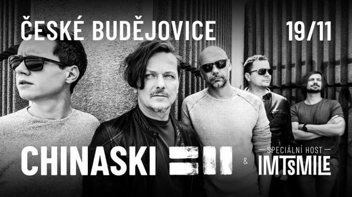 CHINASKI tour 2020 - České Budějovice