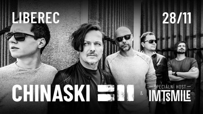 28.11.2020 - CHINASKI tour 2020 - Liberec