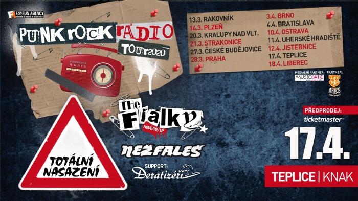 Totální nasazení, The Fialky, Nežfaleš - Tour 2020 / Teplice