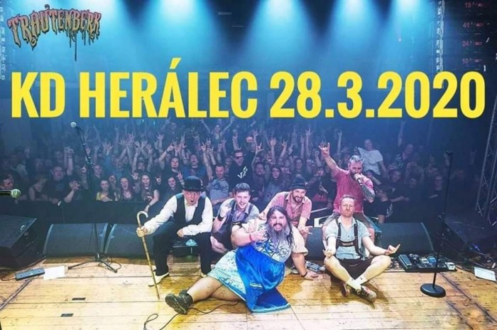 28.03.2020 - Trautenberk Tanz Metal - Koncert / Herálec