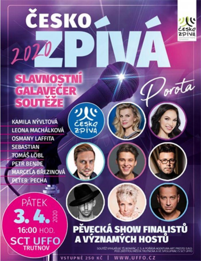 03.04.2020 - ČESKO ZPÍVÁ 2020 - Trutnov