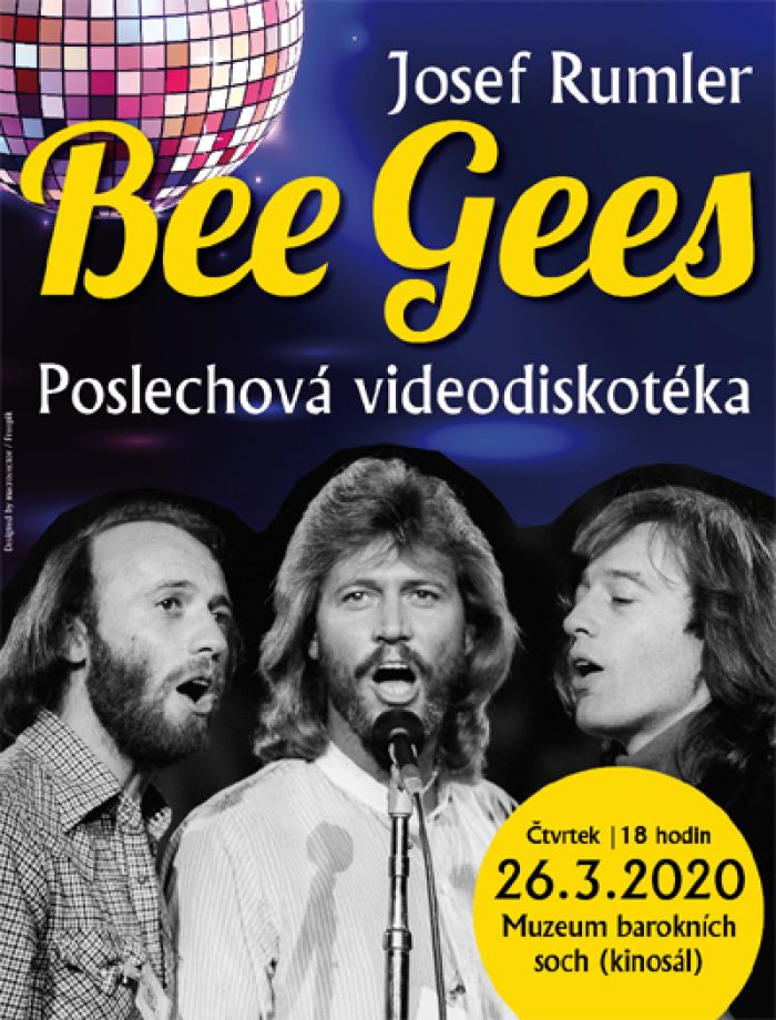 26.03.2020 - Josef Rumler - Bee Gees / Chrudim