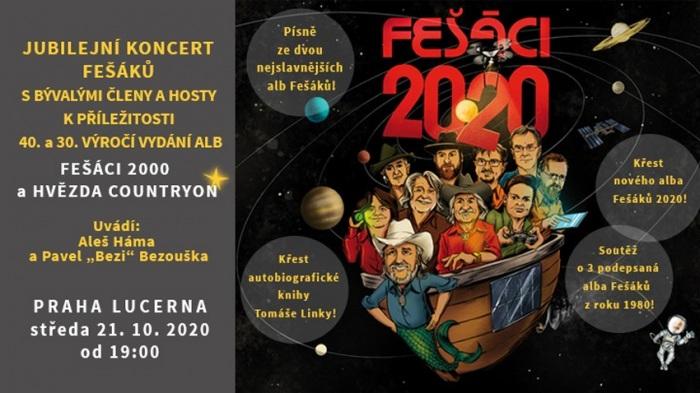 21.10.2020 - Jubilejní koncert skupiny Fešáci - Praha