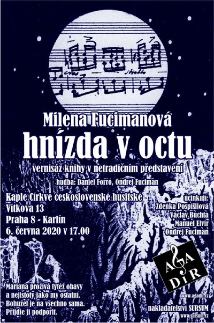 06.06.2020 - Milena Fucimanová: Hnízda v octu - Praha