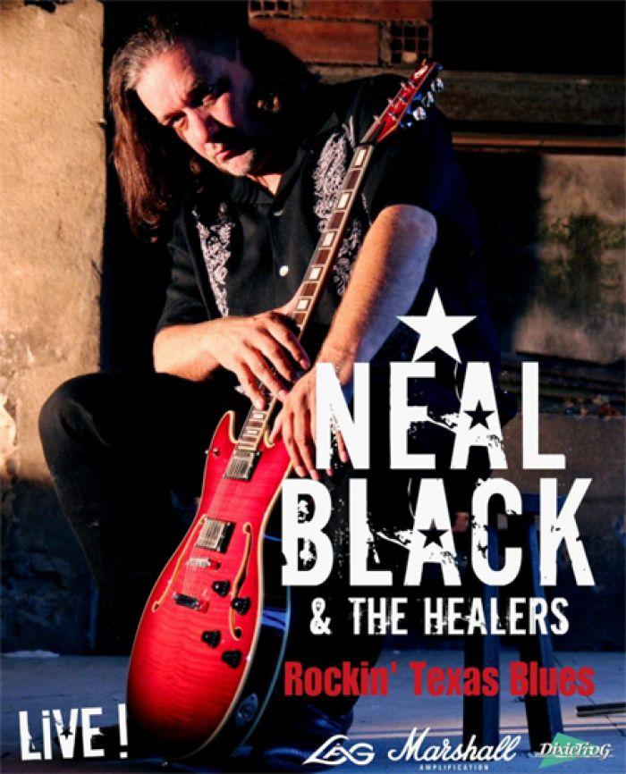 13.09.2020 - NEAL BLACK & THE HEALERS - Koncert / Ústí nad Orlicí