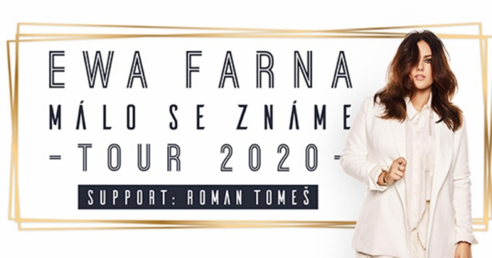 Ewa Farna: Málo se známe Tour 2020 / Dvůr Králové nad Labem