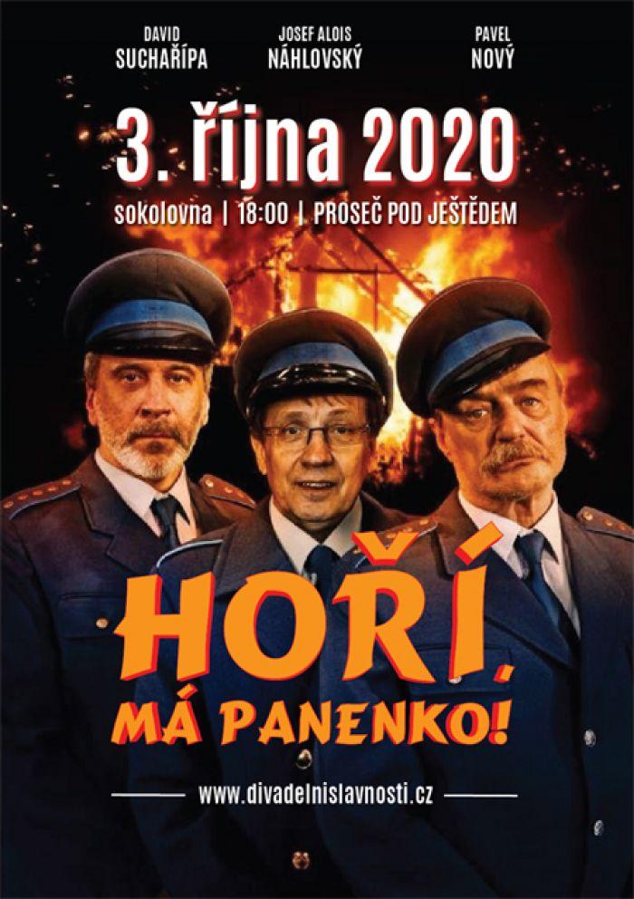 Hoří, má panenko! - Divadlo / Proseč pod Ještědem